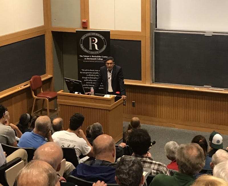 Neal Katyal '91, a former acting U.S. Solicitor General, returned to the College this past Friday.