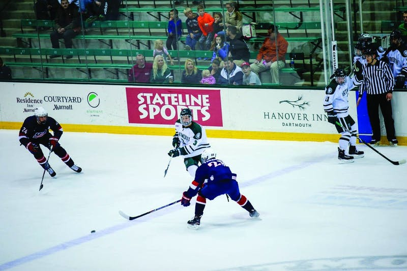 The Dartmouth men's hockey team is off to a solid 4-2-1 start in conference play.