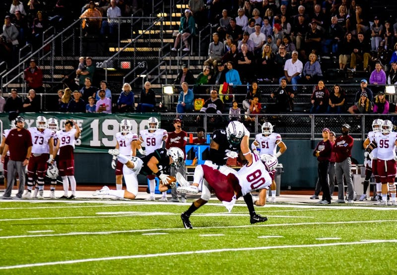 The Big Green football team's offense was dominant against Colgate, scoring 38 points on 440 yards.