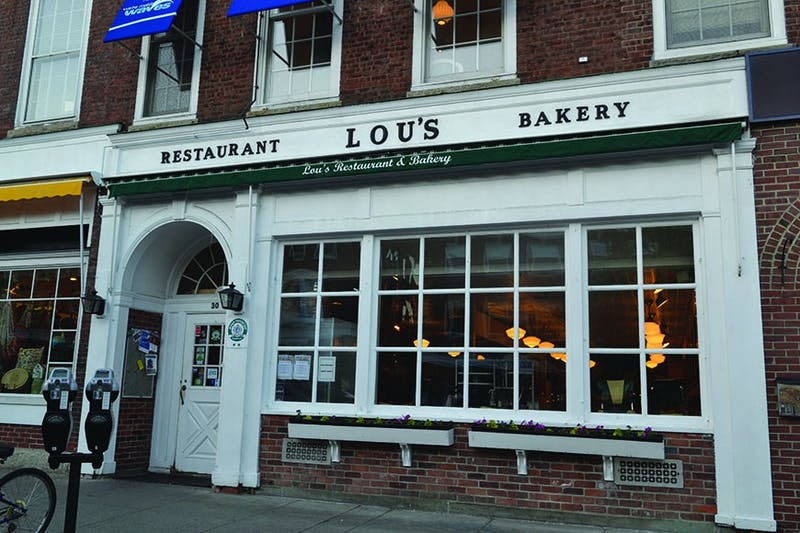Lou's is a popular spot for brunch.