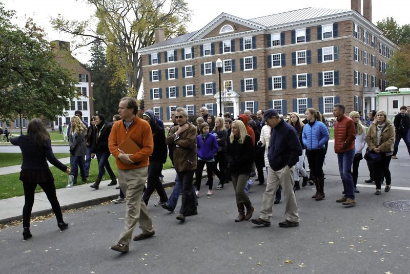 Increased admissions programming coincides with a fall influx of prospective students.