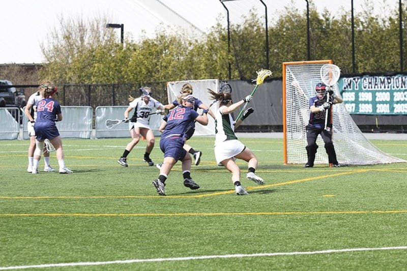 With its 7-5 loss to Harvard University, the women's lacrosse team will have to travel to Philadelphia next weekend for the Ivy League Tournament.