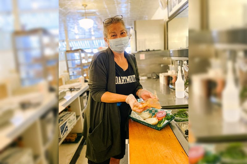 Becky Schneider, who has worked at Lou's since 1978, was recently diagnosed with cancer.