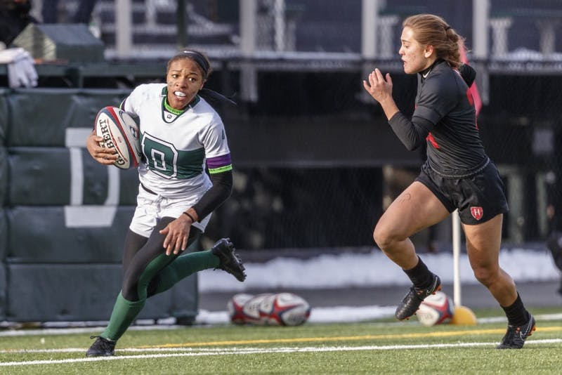 A late comeback effort by Ariana Ramsey '22 and the Big Green was not enough to close the gap with Harvard.
