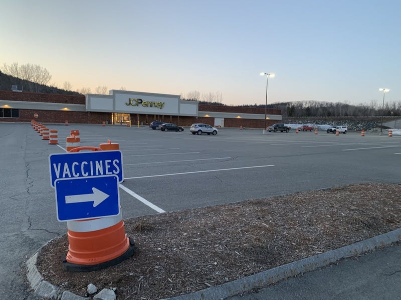 Some students have gotten vaccinated at the former J.C. Penney in West Lebanon, while others have traveled to Claremont, New Hampshire or further afield.