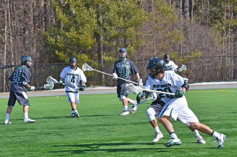 Men's lacrosse lost in a close game to Wagner.