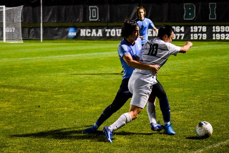 After fighting to a scoreless tie with Columbia at home last week, the Big Green defeated Harvard on the road on Saturday.