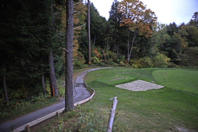Pine Park, a popular running spot, will soon see a new bridge.