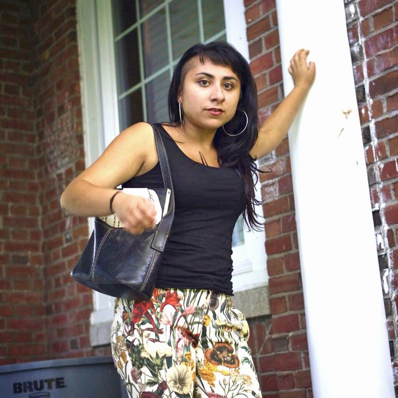 Marina Massidda '17 is a studio art major who focuses on oil painting.