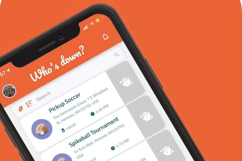 'Who's Down' became available on the App Store and Google Play on Sept. 15.