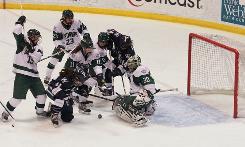 The women's hockey team extended its winning streak to four games with victories against Yale and Brown.