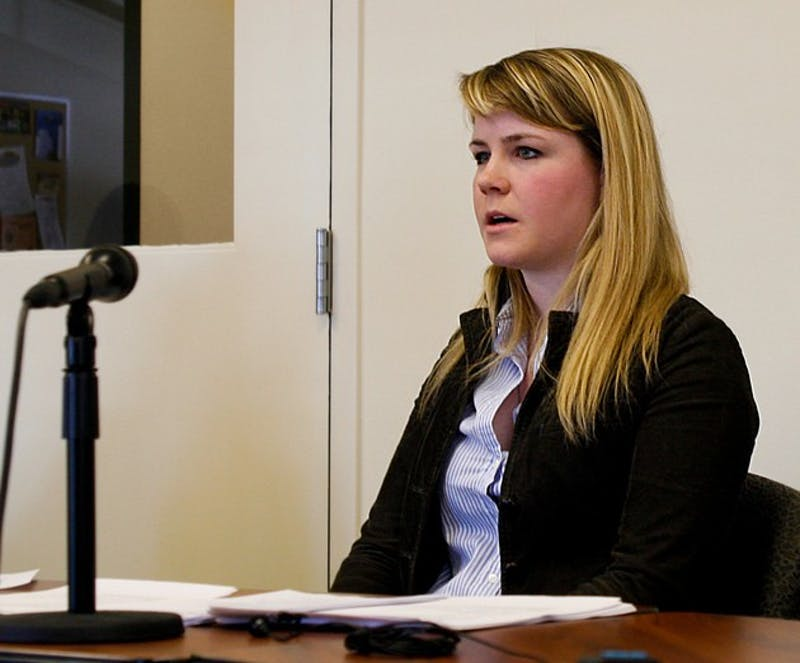 The Grafton County Commissioners voted to approve the new budget proposed by Vanessa Sievers '10 at their Tuesday meeting.