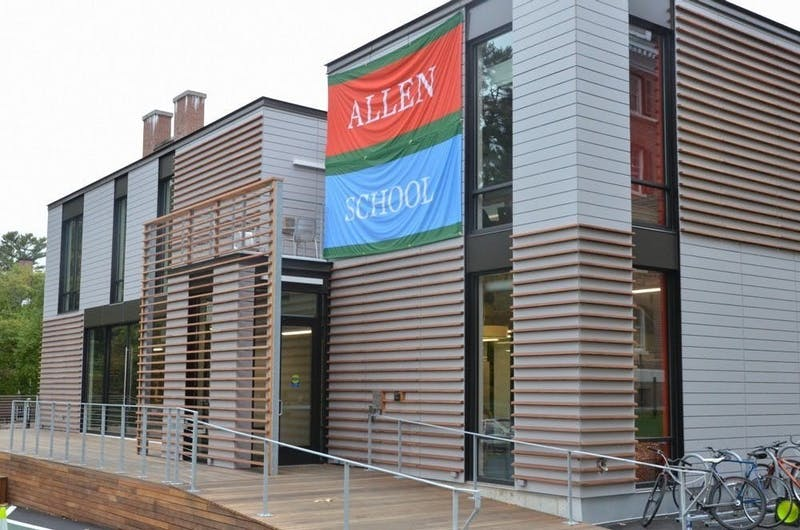The house communities offer shared social spaces, like the Cube, which is for Allen and School houses.