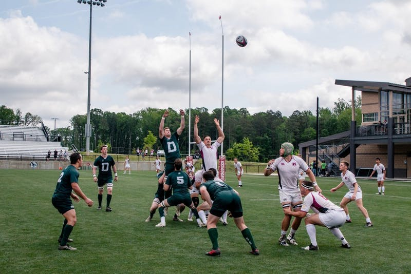 The rugby team has been undefeated since losing to Army earlier this season.