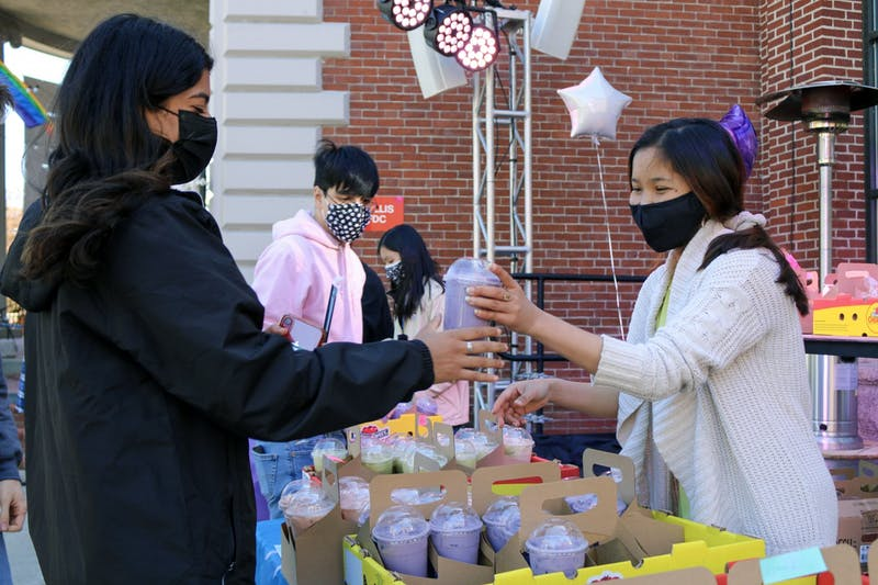 The month of celebration kicked off on Saturday with a Bubble Tea Grab-N-Go event.