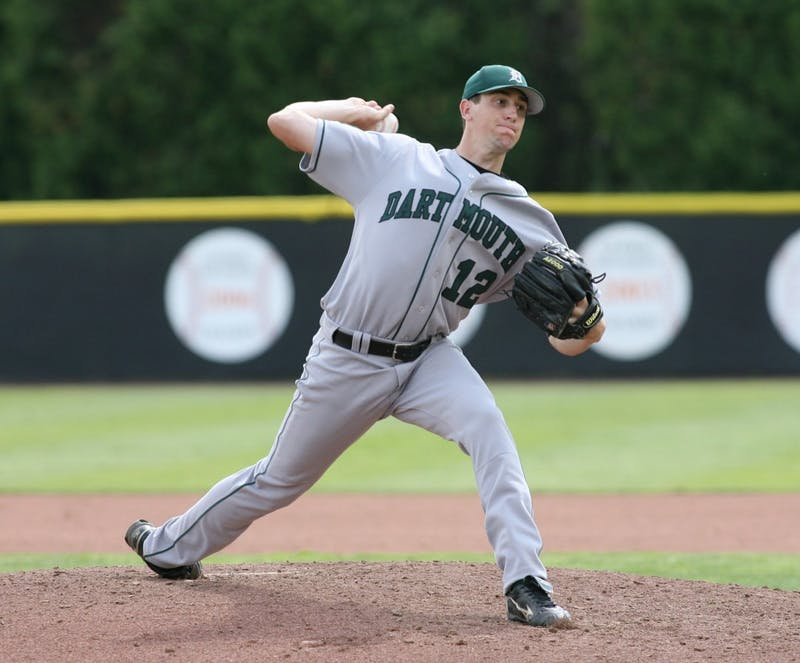 Pitcher Kyle Hendricks '12 agreed to a four-year, $55.5 million contract extension with the Chicago Cubs in late March. Beverly Schaefer/Courtesy of the Dartmouth Athletics Department