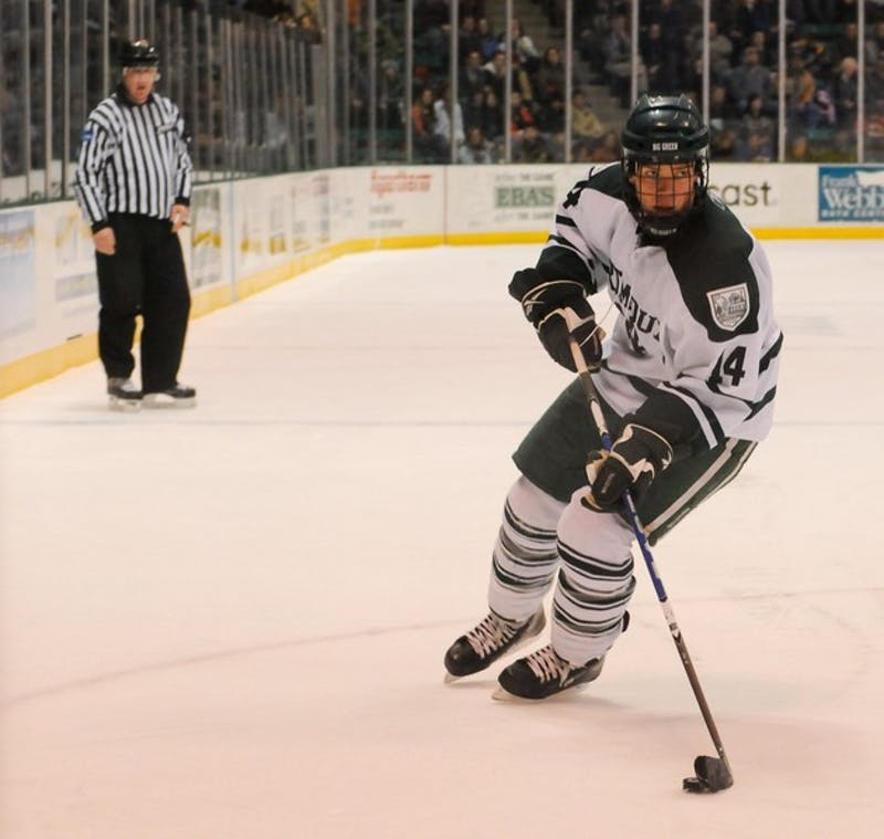 Dartmouth men's hockey will take on in-state rival University of New Hampshire on Saturday at the Verizon Center in Manchester, N.H.