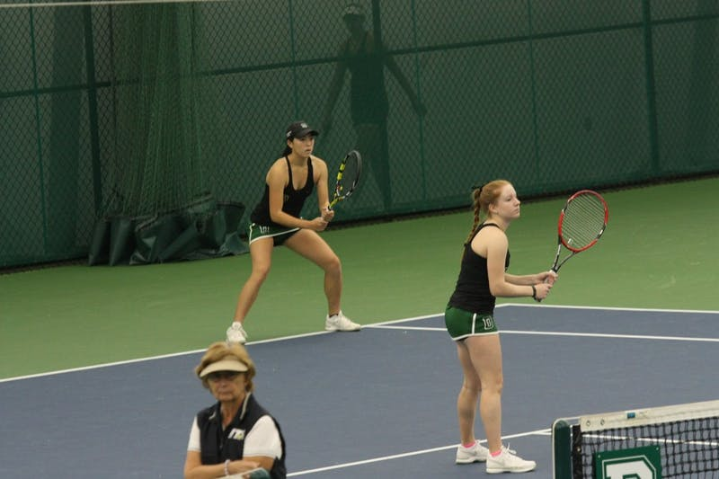 The women's tennis team has consistently boasted strong retention rates over the past three years.
