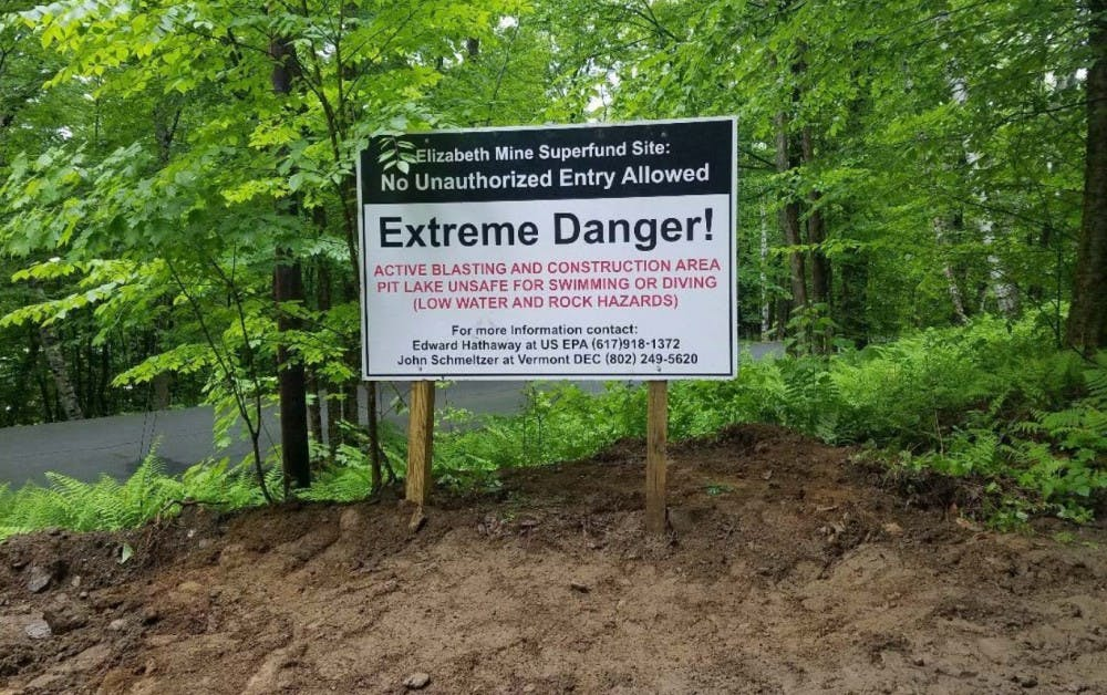 EPA blasting and draining inactive copper mines | The Dartmouth