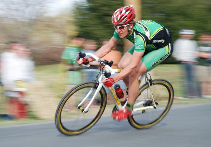 Dartmouth's cycling team bested a field of 400 riders representing over 40 teams and claimed the Eastern Collegiate Cycling Conference Championship title. The races were held in Hanover last weekend.