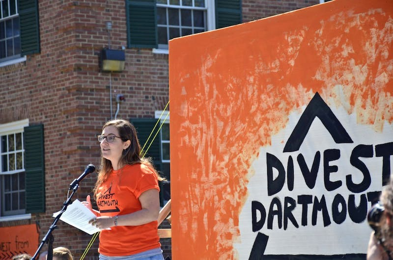 Divest Dartmouth's Big Green Rally was the most co-sponsored event in College history.
