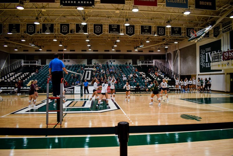The Dartmouth volleyball team dropped three games at home this weekend.
