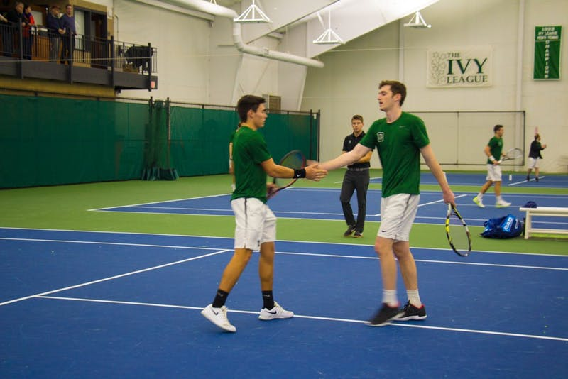 The doubles team of Charlie Broom '20 and David Horneffer '20 will compete in the NCAA doubles tournament later this month.