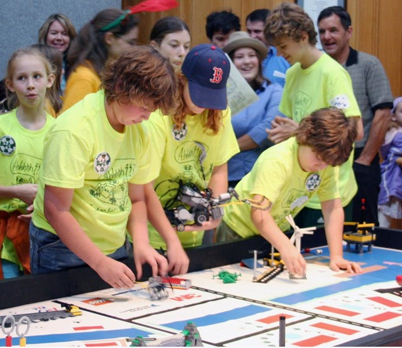 The Dartmouth Area Robotics Tournament brought 16 teams of middle school students together to pit their Lego creations against one another.