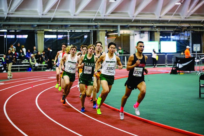 Dartmouth track and field athletes competed in a variety of events at the Dartmouth Relays this weekend.