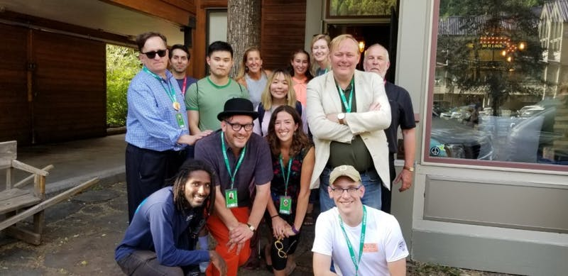 Dartmouth alumni reunite annually for the Telluride Film Festival.