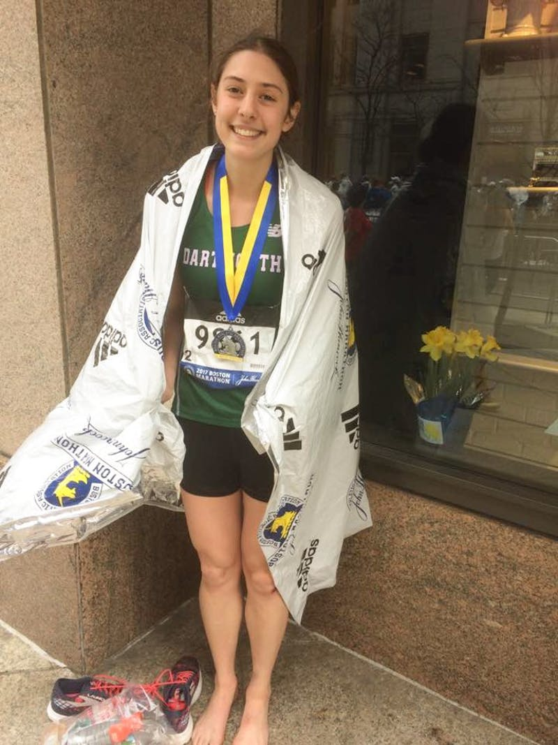 Isabella Caruso '17 finished 40th in the women's category and 37th in the 18 to 39 age division.