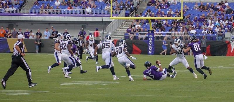 Rams at Ravens 8/9/18