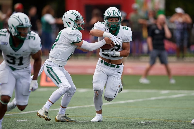 Dartmouth football running back Zack Bair '22 does not expect the NCAA's new transfer rules to significantly change the recruiting landscape for Big Green teams.