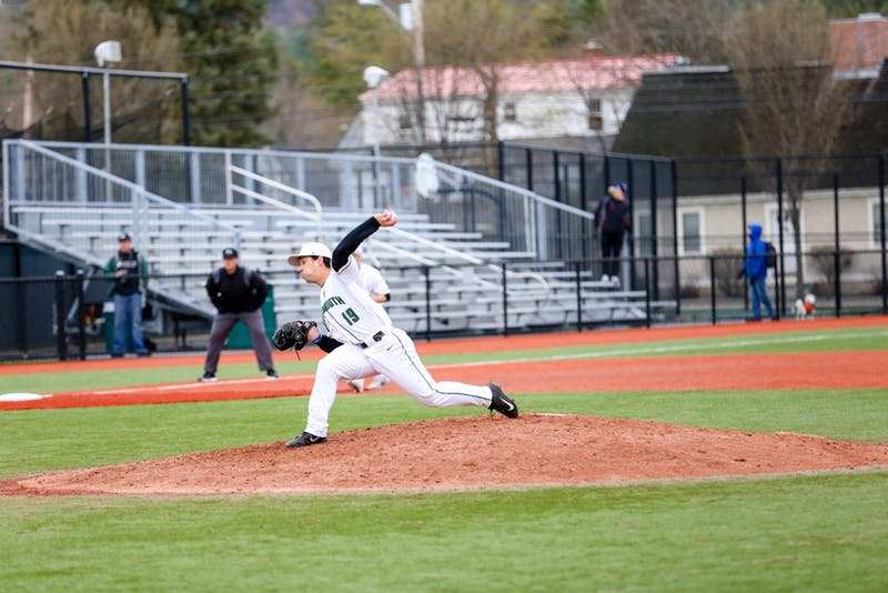 The baseball team went 1-2 against Yale this weekend. It will play its final series of the season next weekend.
