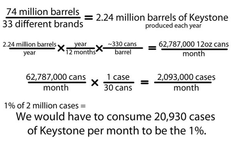 CORRECTION APPENDED: In case you couldn't follow the math, here's the formula. The Mirror loves math. The graphic has been updated to reflect the numbers in this article.