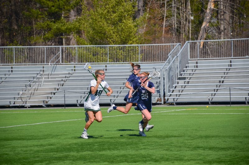Women's lacrosse gave Brown University its first Ivy win this past weekend.