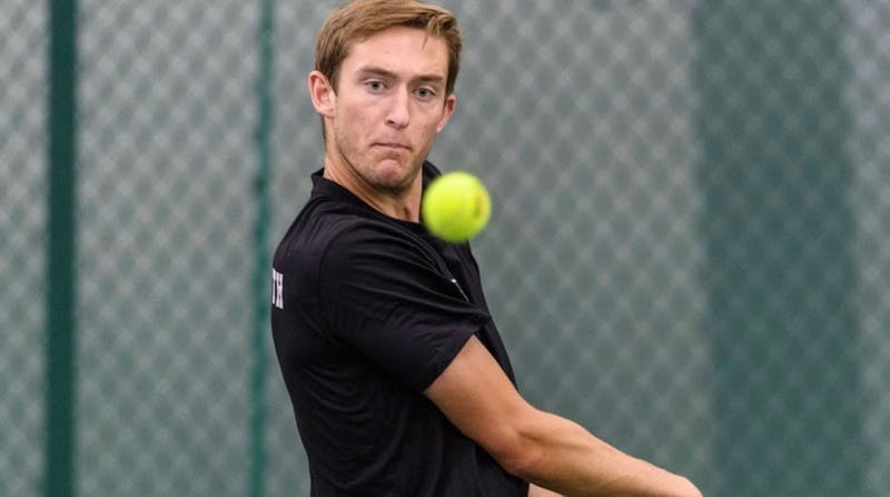 Tennis player John Speicher '21 recently wrote an article in Outsports detailing his experience coming out at Dartmouth.
