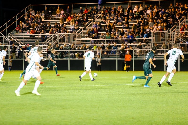 After dropping a close match to UNH, the men's soccer team came back big to beat Niagara University 7-1. The team then dropped its match against Albany on Tuesday.