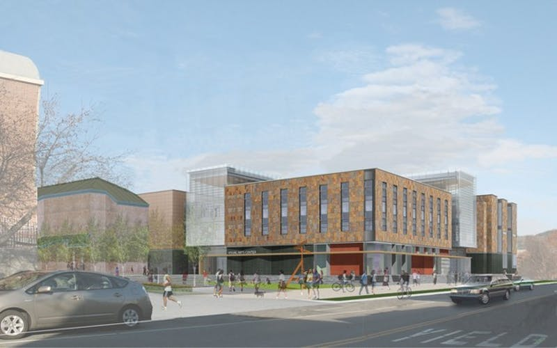 Plans for a new $52 million visual arts center were released this week.