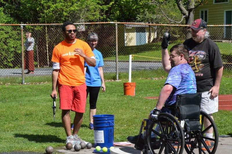 The Special Olympics took place on Saturday at Dartmouth and Hanover High School.