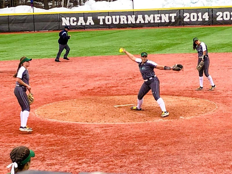 Big Green softball swept Princeton this weekend to close out the season.