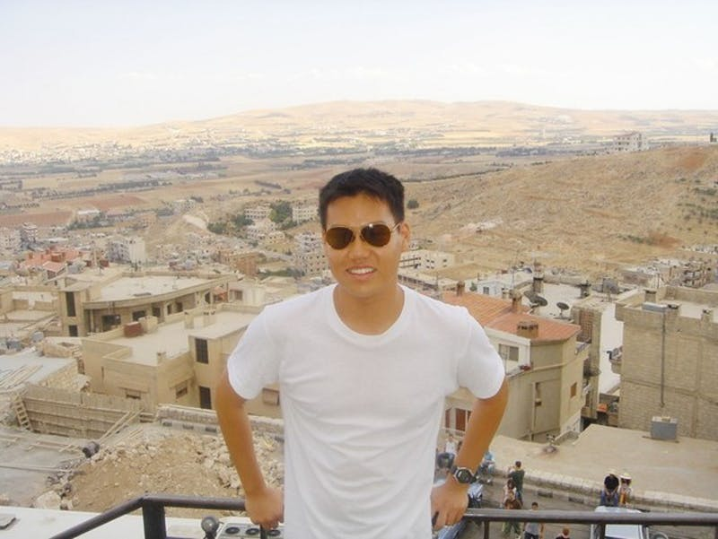 An Arabic language immersion program became all too real when Edward Kim '09 found himself in the middle of the Israeli-Lebanese conflict.