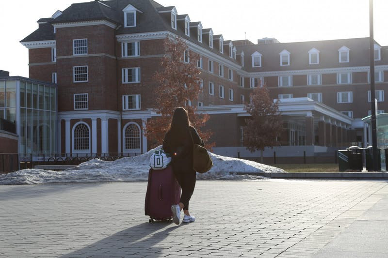 Students returned to Hanover this week, some after traveling away during spring break.