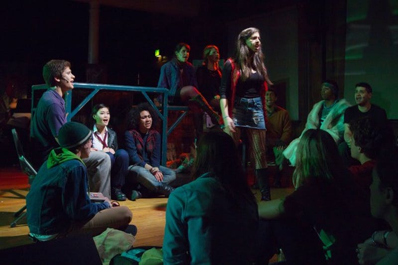 The student production of