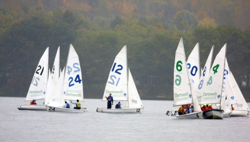The co-ed sailing team took second place in the prestigious Boston Dingy Cup after winning the A and D divisions.