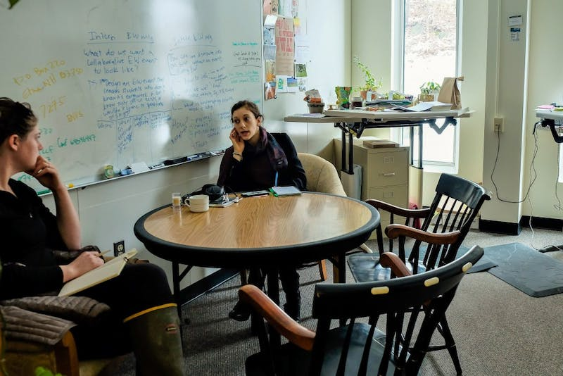 The Dartmouth Sustainability Office is working to help students understand and address sustainability issues on campus.