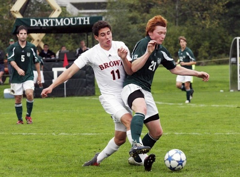 Daniel Keat '10 was named first-team All-Ivy after a stellar rookie season.