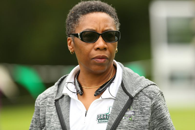 Ford-Centonze became head coach of the Dartmouth women's track and field team in 1992.