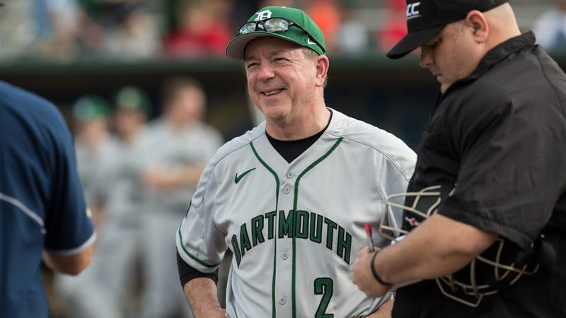 Bob Whalen is starting his 30th season as head coach of Dartmouth baseball.
