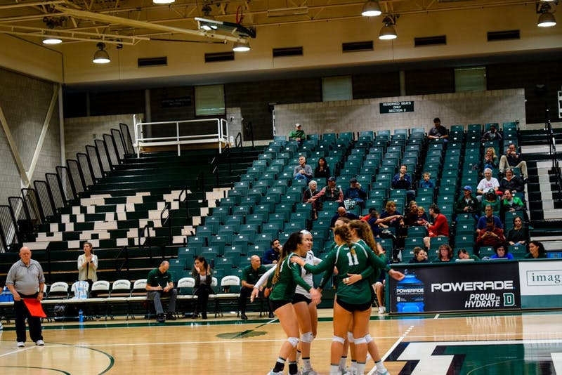 The highlight for many team players was the close five-set victory over Harvard University earlier this season.